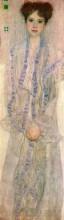 """Репродукция картины """"Portrait of Gertha Felssovanyi"""" художника """"Климт Густав"""""""