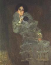 """Копия картины """"portrait of marie henneberg"""" художника """"климт густав"""""""