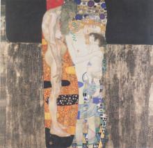 """Репродукция картины """"Три возраста женщины"""" художника """"Климт Густав"""""""