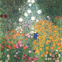 """Картина """"Flower Garden"""" художника """"Климт Густав"""""""
