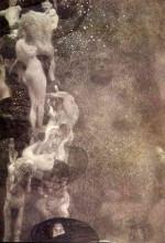 """Репродукция картины """"philosophy (final state)"""" художника """"климт густав"""""""