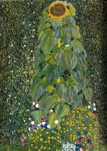 """Репродукция картины """"The Sunflower"""" художника """"Климт Густав"""""""