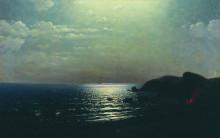 """Картина """"лов рыбы на черном море"""" художника """"куинджи архип"""""""
