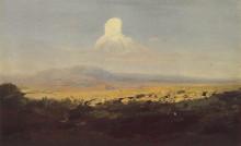 """Копия картины """"облако над горной долиной"""" художника """"куинджи архип"""""""
