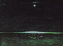"""Репродукция картины """"лунная ночь на днепре"""" художника """"куинджи архип"""""""