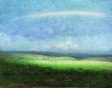 """Копия картины """"после дождя. радуга"""" художника """"куинджи архип"""""""