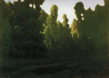 """Копия картины """"Лес"""" художника """"Куинджи Архип"""""""