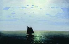 "Копия картины ""Лунная ночь на море"" художника ""Куинджи Архип"""