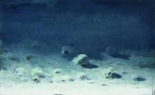 """Репродукция картины """"Лунная ночь. Зима"""" художника """"Куинджи Архип"""""""