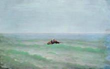 """Картина """"лодка в море. крым"""" художника """"куинджи архип"""""""