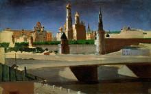 """Репродукция картины """"москва. вид на кремль со стороны замоскворечья"""" художника """"куинджи архип"""""""