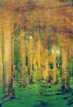 """Репродукция картины """"Березовая роща. Пятна солнечного света"""" художника """"Куинджи Архип"""""""