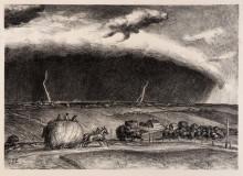 """Репродукция картины """"The Line Storm"""" художника """"Кэрри Джон Стюарт"""""""