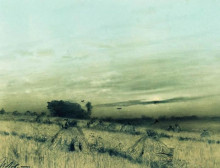 "Картина ""сжатое поле"" художника ""левитан исаак"""