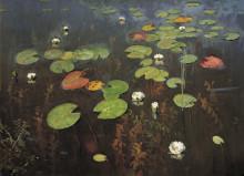 "Картина ""Water lilies. Nenuphar."" художника ""Левитан Исаак"""
