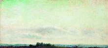 """Копия картины """"Пейзаж"""" художника """"Левитан Исаак"""""""