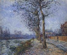 "Картина ""Oise at Pontoise"" художника ""Луазо Гюстав"""