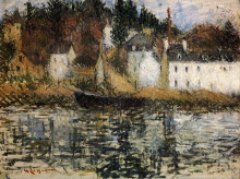 "Копия картины ""The Quay at Pont Aven"" художника ""Луазо Гюстав"""