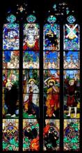 """Репродукция картины """"apostles (st. peter, john, james the great, andrew)"""" художника """"мехоффер юзеф"""""""