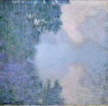 "Репродукция картины ""утро на сене"" художника ""моне клод"""