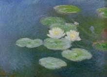 """Картина """"Водяные лилии, вечерний эффект"""" художника """"Моне Клод"""""""