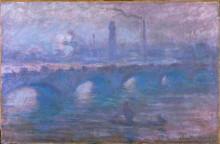 "Картина ""Мост Ватерлоо, туманное утро"" художника ""Моне Клод"""