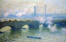 "Картина ""мост ватерлоо, лондон"" художника ""моне клод"""
