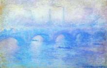 "Картина ""waterloo bridge"" художника ""моне клод"""