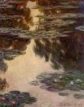 """Картина """"Водяные лилии"""" художника """"Моне Клод"""""""