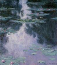 """Картина """"водяные лилии (нимфеи)"""" художника """"моне клод"""""""