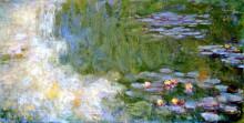 """Копия картины """"пруд с водяными лилиями"""" художника """"моне клод"""""""