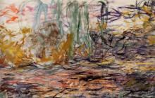 """Картина """"Водяные лилии (левая половина)"""" художника """"Моне Клод"""""""