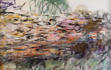 """Картина """"Водяные лилии (правая половина)"""" художника """"Моне Клод"""""""