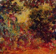"""Копия картины """"дом художника, вид из розового сада"""" художника """"моне клод"""""""