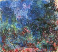 """Репродукция картины """"Дом в Живерни, вид из розового сада"""" художника """"Моне Клод"""""""