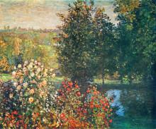 "Картина ""розы в саду хосхеде, монрегон"" художника ""моне клод"""