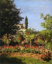 """Картина """"Цветущий сад в Сен-Адрес"""" художника """"Моне Клод"""""""