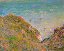 "Картина ""вид со скалы в пурвиле, ясная погода"" художника ""моне клод"""