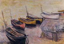 "Копия картины ""Лодки на побережье"" художника ""Моне Клод"""