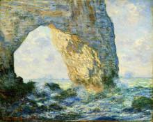 """Копия картины """"маннпорт, скальные ворота, запад этрета"""" художника """"моне клод"""""""