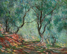 "Картина ""Оливковая роща в саду Морено"" художника ""Моне Клод"""