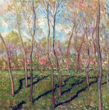 "Картина ""деревья зимой, вид на бенекур"" художника ""моне клод"""