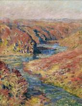 """Копия картины """"долина крез в фресселине"""" художника """"моне клод"""""""