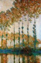 "Картина ""тополя на берегах эпте, осень"" художника ""моне клод"""