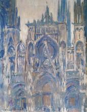 """Копия картины """"руанский собор, этюд главного входа"""" художника """"моне клод"""""""