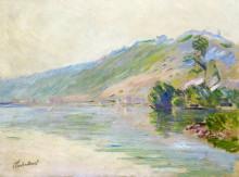 """Картина """"сена в порт-вийе, ясная погода"""" художника """"моне клод"""""""