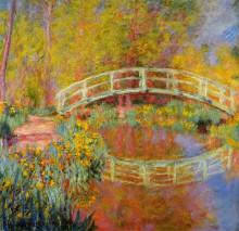 """Картина """"японский мостик (мостик в саду моне)"""" художника """"моне клод"""""""