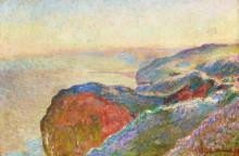 """Копия картины """"в валь сен-никола близ дьеппа, утро"""" художника """"моне клод"""""""