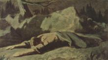"""Репродукция картины """"Христос в Гефсиманском саду"""" художника """"Перов Василий"""""""