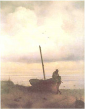 "Картина ""вид побережья близ санкт-петербурга"" художника ""айвазовский иван"""